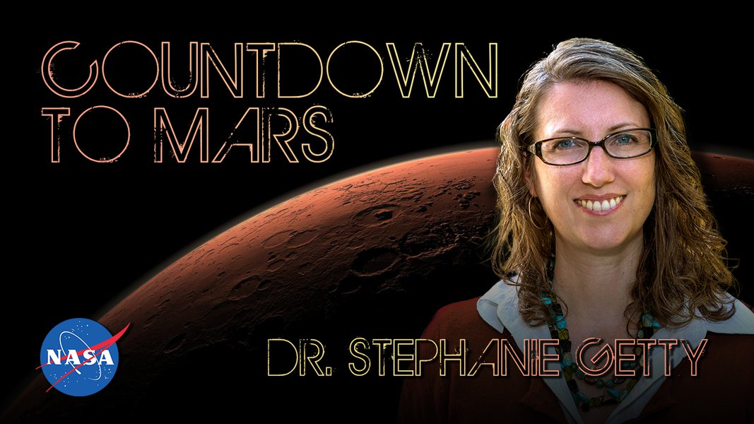 Countdown to Mars! with Dr. Stephanie Getty