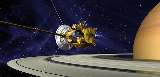 Artist impression of the Cassini spacecraft. Image credit: NASA