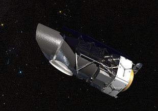 September 2009 artist's conception of the James Webb Space Telescope. Credit: NASA