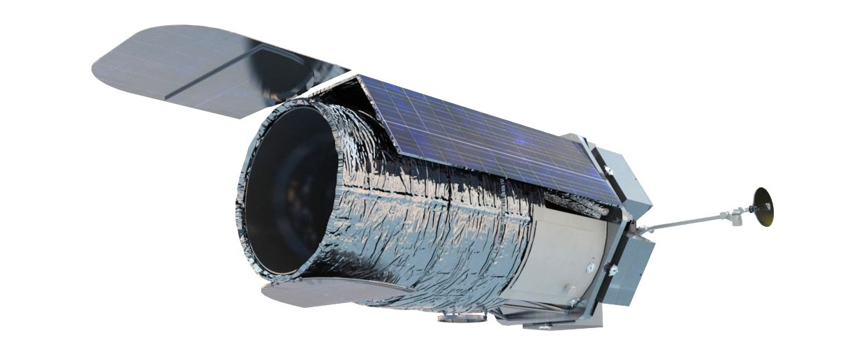 Artist's rendition of NASA's WFIRST Mission configured with a 2.4-meter mirror.